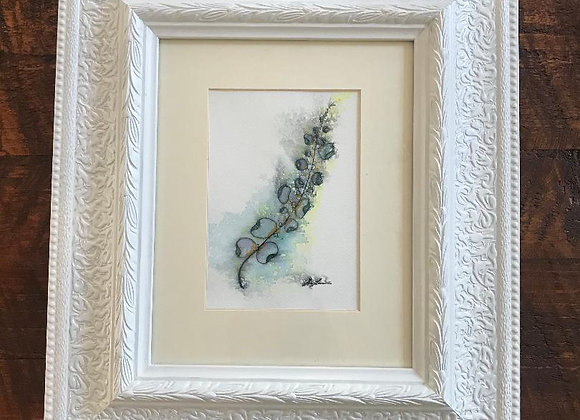 """""""Floral"""" Framed original art"""