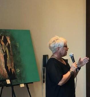 Savannah Art Walk September 2019/ Featured Artist, Tina Lawver