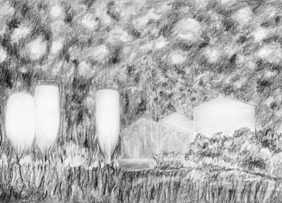 -Les silos de la série jardin des souffles