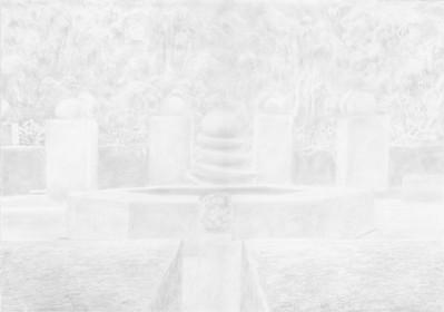 Le jardin blanc 1 de la série jardin des souffles