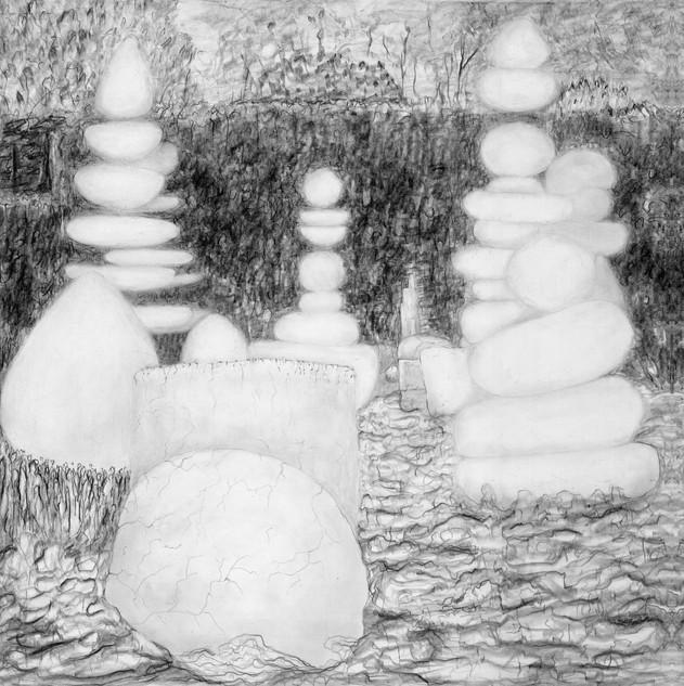 -Topiaires 1 de la série jardin des_souffles