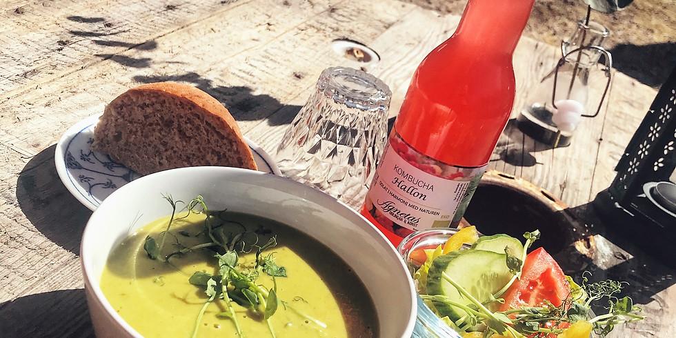 Soppa & lunchyoga
