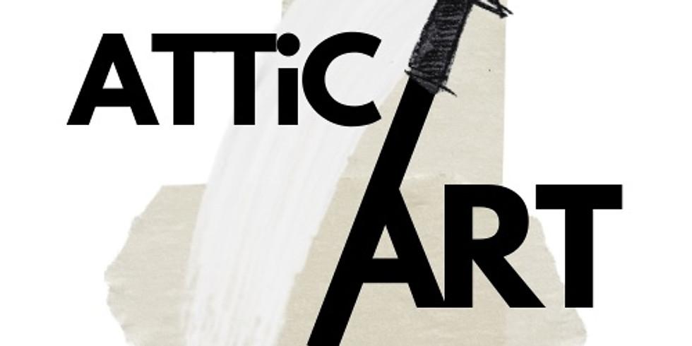 Attic Art - exklusiv konstutställning 100kr
