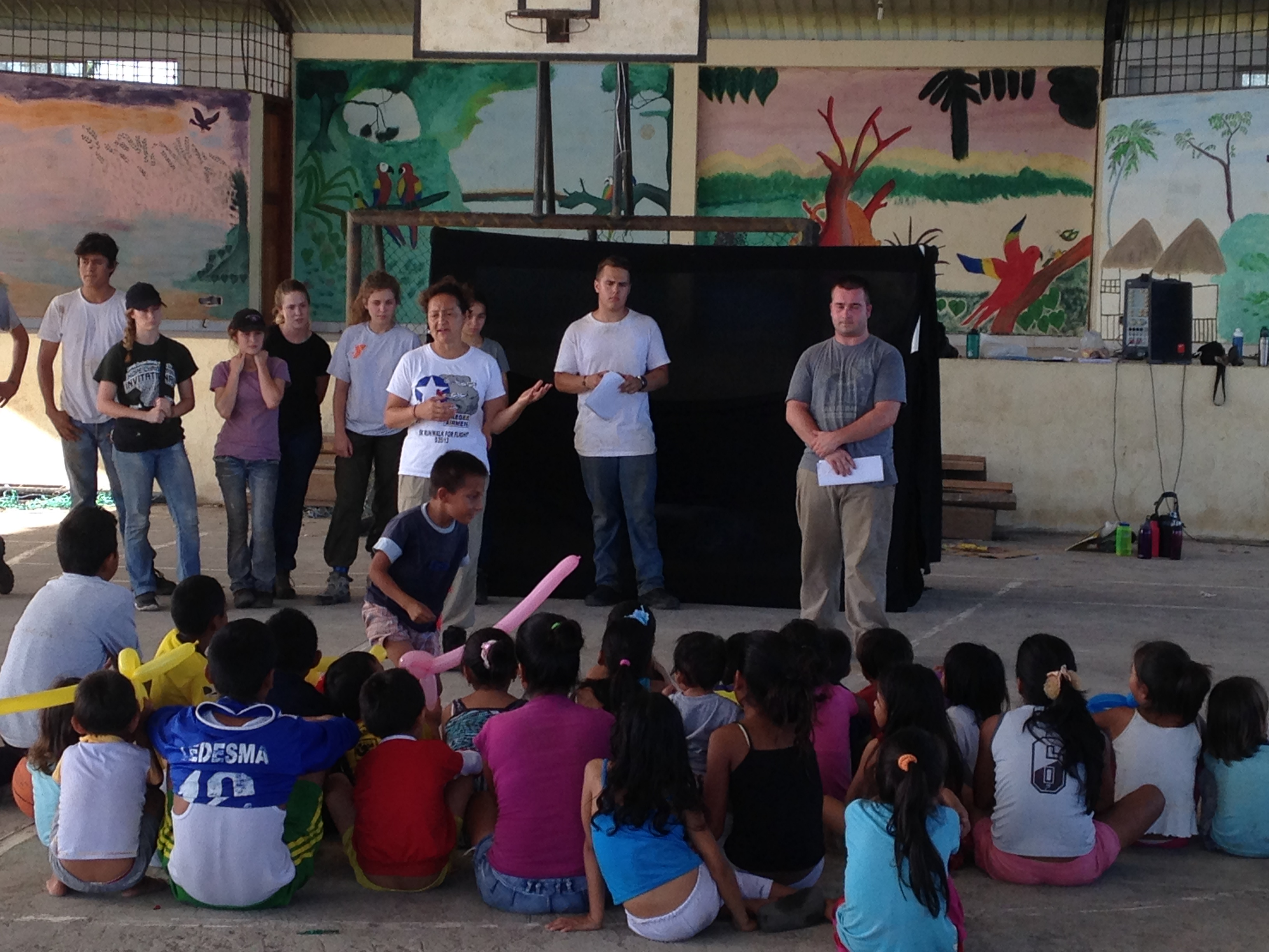 Short-term Mission Team VBS