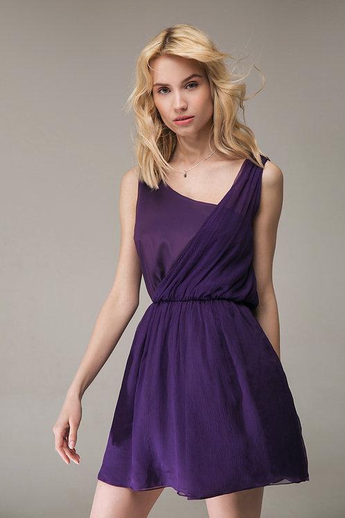 Cocktail dresss violet