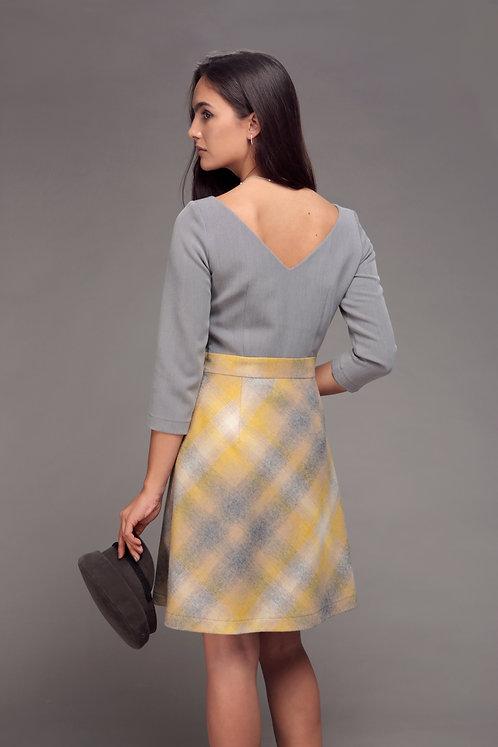 Платье Huston из шерстяного твида Trussardi