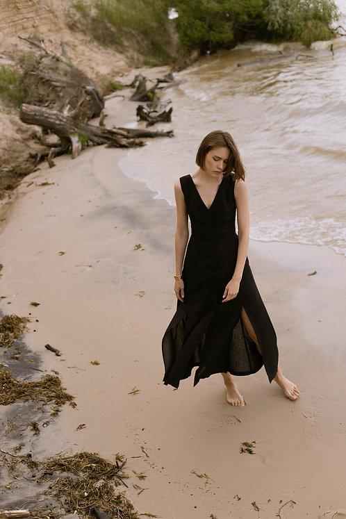 Платье Provencе в черном цвете