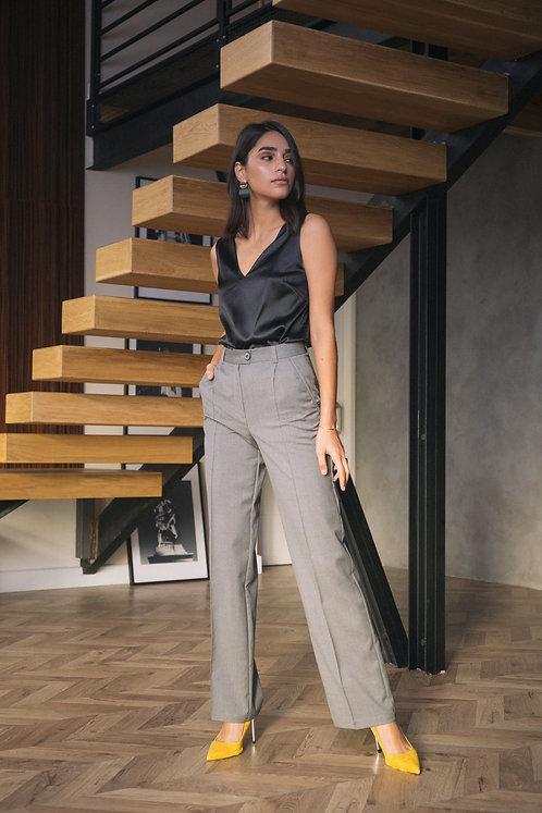 Широкие брюки Verese Cambridge Grey