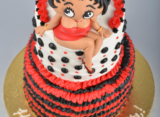 Cake Journey- Betty Boop Birthday Cake