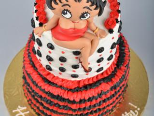 Cake Journey- Betty Boop Birthday Cake