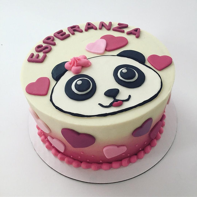 Panda Birthday Cake | Cakes by Coffee | Cake Decorating Classes ...