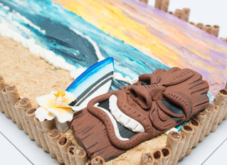 Cake Journey- Hawaii-Themed Sheet Cake