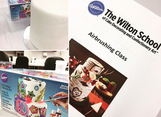 The Wilton School Revisited: Airbrushing Class with Johanna Wyss