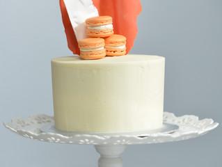 Macaron Birthday Cake