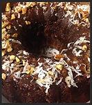 Rum Cake, Chocolate Rum Cake, Pecans a