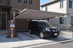 駐車場、コンクリート工事、カーポート工事