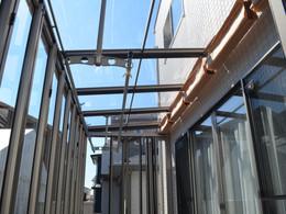 クリアタイプの屋根