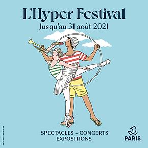 L'Hyper Festival - visuel réseaux sociau