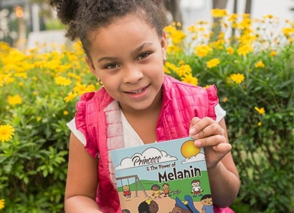 Children's Book - Princess and The Power of Melanin