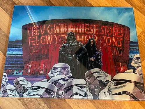 Star Wars Glass worktop saver