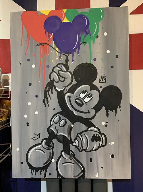 Grafitti Mickey