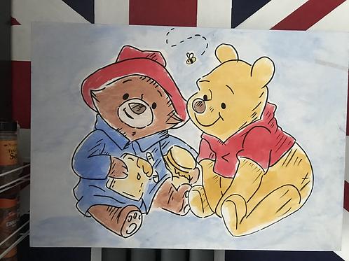 Paddington and Pooh Bears Picnic