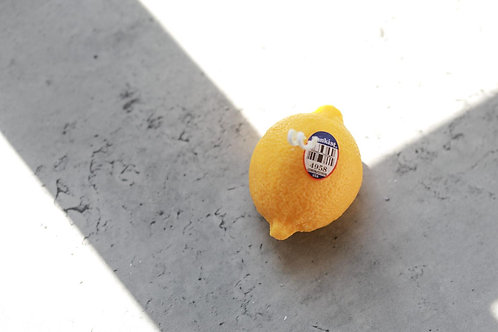 Handmade Soy Candle (Lemon)
