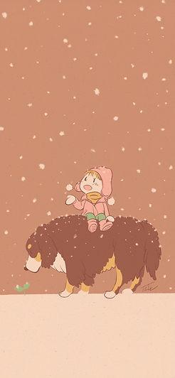 「雪を待ってた」