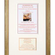 Lot 1 - Ticket and Handbill for Ed Sheeran's First Public Gig 2005