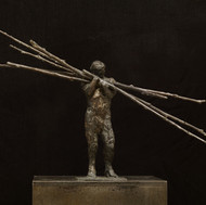 Lot 115 - Laurence Edwards Loaded Bronze Sculpture
