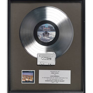 Lot 91 - Pink Floyd A Momentary Lapse of Reason Tour Commemorative Platinum Disc
