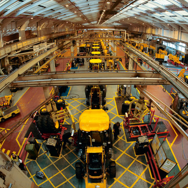 Lot 34 - A VIP JCB Factory Tour for a Day with JCB's Managing Director, with a Delicious Organic Lunch for 4 Guests