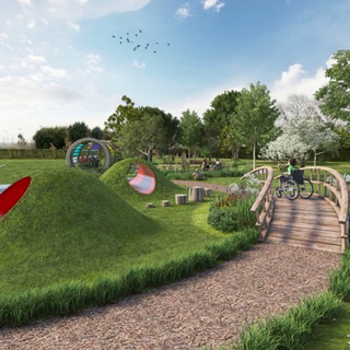 Visuals of the new Thomas Wolsey Ormiston Academy Playground by Richard Wilkinson  (5)