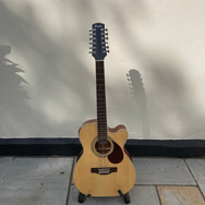 Lot 111 - Steve Harley's Adam Black 12 String Electro-Acoustic Guitar plus 2 VIP Guest Tickets to a Concert