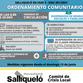 SALLIQUELÓ RETROCEDE A FASE 2 Y DESDE ESTE DOMINGO RIGE UN NUEVO ORDENAMIENTO COMUNITARIO