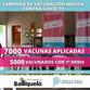 YA SE APLICARON 7000 DOSIS DE LA VACUNA CONTRA COVID-19 EN EL DISTRITO DE SALLIQUELÓ
