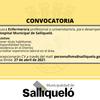 BÚSQUEDA PARA CUBRIR UN PUESTO DE ENFERMERO PROFESIONAL O UNIVERSITARIO