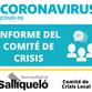 SE REUNIÓ EL COMITÉ DE CRISIS: SE EXTIENDE EL HORARIO COMERCIAL Y DE CIRCULACIÓN