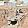 SE AVANZA HACIA EL FINAL DE LA CONSTRUCCIÓN DEL COLECTOR PLUVIAL DE CALLE ROJAS