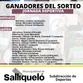 SE CONOCEN LOS GANADORES DEL SORTEO DE LA JORNADA DEPORTIVA