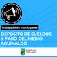 EL PRÓXIMO LUNES EL MUNICIPIO HACE EFECTIVO EL PAGO DEL MEDIO AGUINALDO A LOS EMPLEADOS MUNICIPALES
