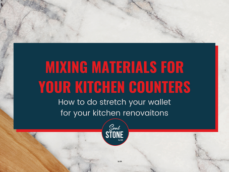 How to do a budget friendly kitchen countertop?