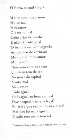 O BEM, O MAL