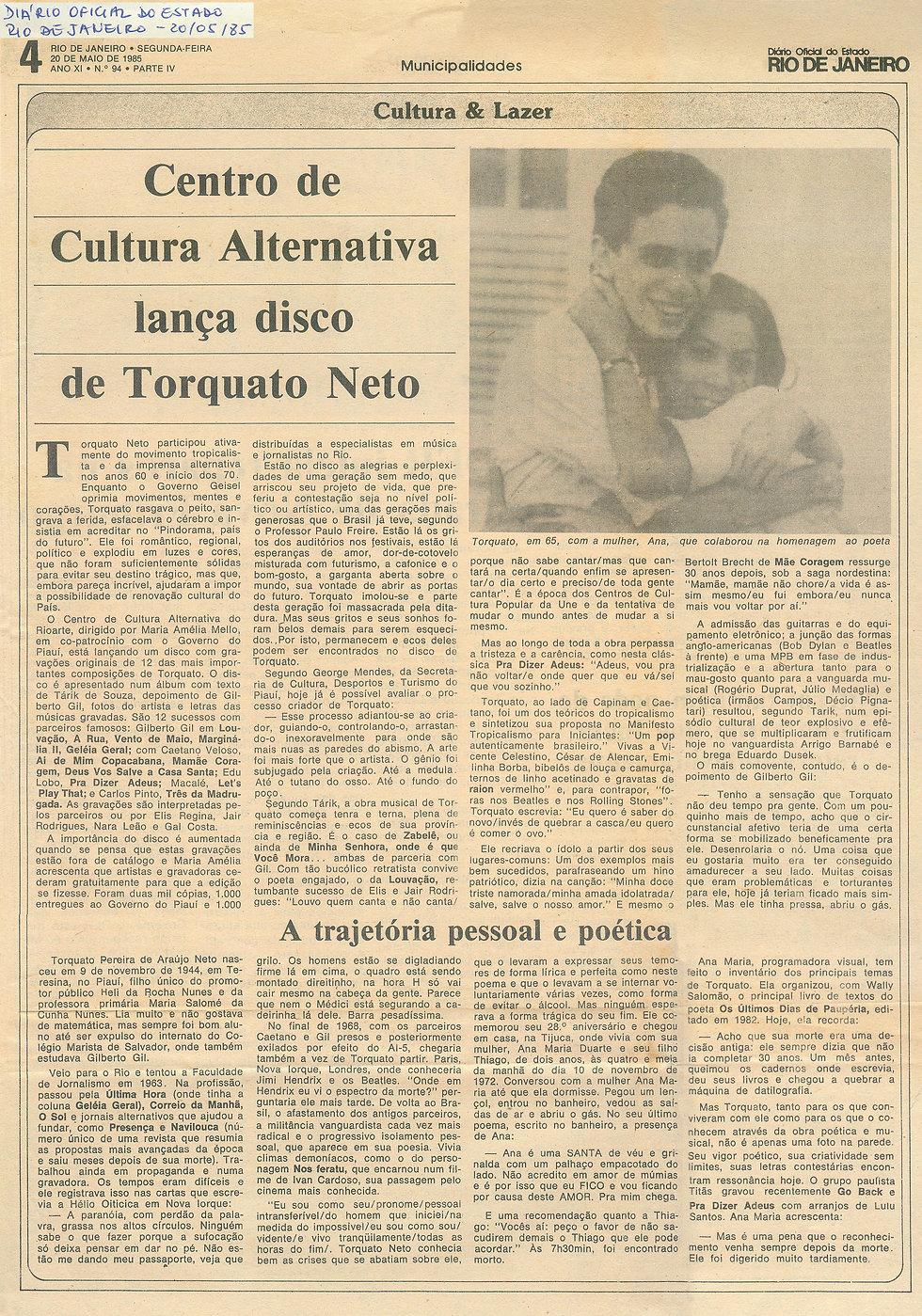 Diário Oficial do Rio