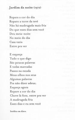 JARDIM DA NOITE