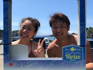ヒリゾ浜と台風と私・・・