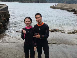 下田体験ダイビング