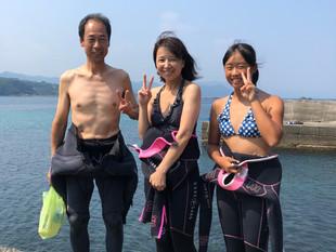 下田体験ダイビングin九十浜