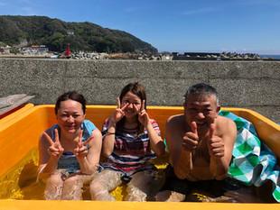 家族で下田体験ダイビング