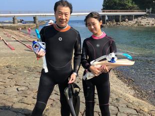 下田でシュノーケリングツアーin恵比須島